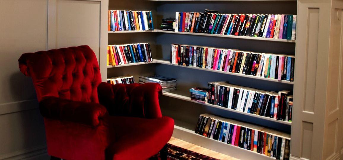 Bibliotek-låna gärna